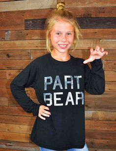 """Part Bear"" tee. #SicEm"