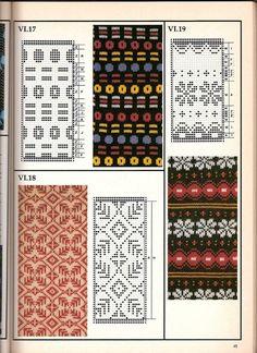 Машинное вязание - жаккард #44