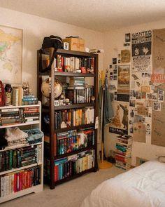 Home Library Ideas Diy Bookshelves Interior Design 47 Ideas Dream Rooms, Dream Bedroom, Master Bedroom, Room Ideas Bedroom, Bedroom Decor, Cozy Bedroom, Bedroom Inspo, Decor Room, Modern Bedroom