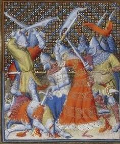 Giovanni Boccaccio, De Claris mulieribus; Paris Bibliothèque nationale de France MSS Français 598; French; 1403, 142v. http://www.europeanaregia.eu/en/manuscripts/paris-bibliotheque-nationale-france-mss-francais-598/en
