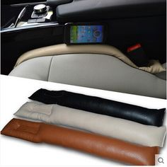 Car-styling Seat Gap Leakproof Pad Box For Peugeot 206 207 208 301 307 308 407 2008 3008 4008