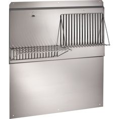 Visit the Home Depot to buy Broan Rangemaster 42 in. Stainless-Steel Backsplash for Broan and 640000 Series Infrared Warming Systems Stainless Backsplash, Kitchen Backsplash, Kitchen Cabinets, Kitchen Island, Stainless Range Hood, Stainless Steel, Backsplash Panels, Online Tile Store, Under Cabinet
