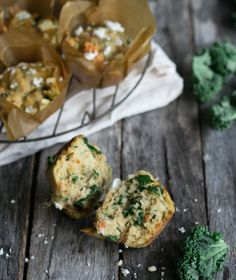 This meal-in-a-muffin from our friend, Nicole Joy, is chock-a-block full of veggies and protein. Perfect for breakfast as you're running out the door or to stash in the kids lunchbox for a nutritious morning tea.