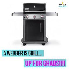 NEW PRIZE ALERT: A Webber Grill!!!