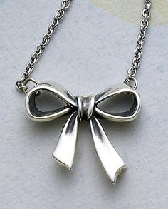 Bow Necklace from James Avery Jewelry