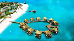 The newly named Jamaica resort is getting 12 overwater bungalows connected by a heart-shaped pier, along with other additions.