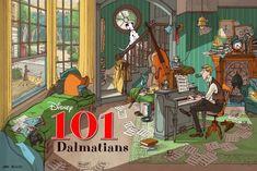 101 Dalmatians (Variant) by Jonathan Burton