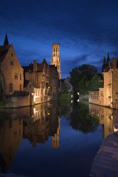 'Bruges, Belgium (Alan Copson)' by Jon Arnold Images