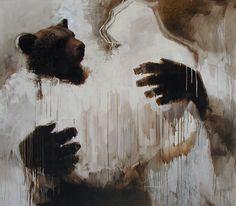 Rohmu by samuli heimonen Finland Art Studies, Art Education, Artsy Fartsy, Finland, Surrealism, Oil On Canvas, Paintings, Fine Art, Drawings