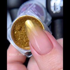 Glitter Nails, Diy Nails, Cute Nails, Manicure, Nail Art Designs Videos, Nail Art Videos, Sharp Nails, Girls Nails, Pretty Nail Art