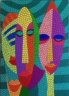 Ivette Bassan Arte. Tres chiflados.