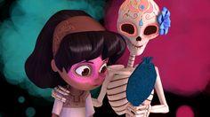 Dia de los Muertos animated short
