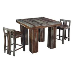 Simple Coast to Coast Counter Height Dining Table in Grayson Sheesham