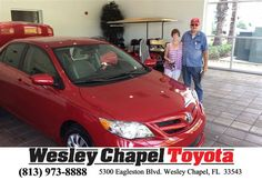 https://flic.kr/p/FX1srg | Happy Anniversary to Peter on your #Toyota #Corolla from Richard Jackson at Wesley Chapel Toyota! | deliverymaxx.com/DealerReviews.aspx?DealerCode=NHPF