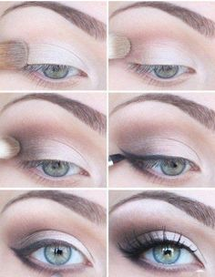 Beautiful Smokey Eye step by step