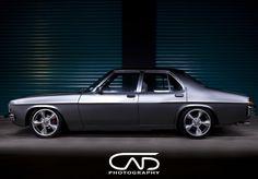 ◆ Visit MACHINE Shop Café... ◆ ~ Aussie Custom Cars & Bikes ~ The 1978 HZ Holden 4-door Sedan
