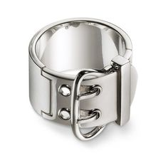 Silver Jewelry Hermès Rings ($1,025) ❤ liked on Polyvore