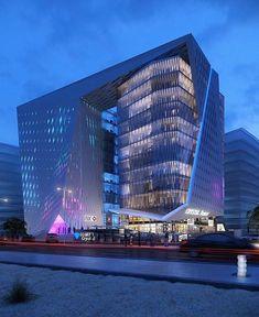Al Maadi Office Building by Hesham Essawy.