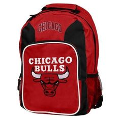 89981e72f1f4 Chicago Bulls Southpaw Backpack - Red Black