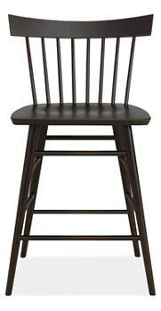 Counter stool for kitchen island - modern Windsor.
