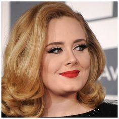 Adele - lovely style for mid length