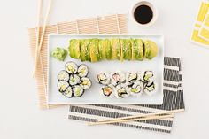 The Ultimate Guide to Making Sushi for Two for Under $30 via Brit + Co.