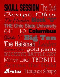 Ohio State University Traditions!
