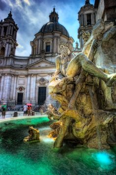 Piazza Navona - Rome, Italy by Scotty Graham