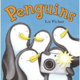 Book, Penguins by Liz Pichon and Free Penguin Addition Activity