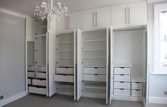Image result for fitted wardrobes