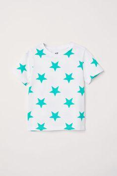 T-shirt - White/Stars - | H&M