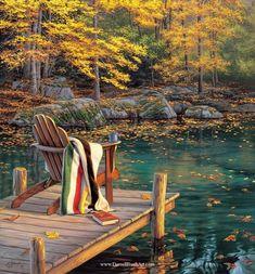 """Reflecting on Golden Pond"""