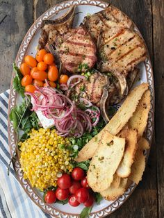Tips With Teri #2 — Pork Chop Platter | Inspiration for Everyday Food Made Marvelous