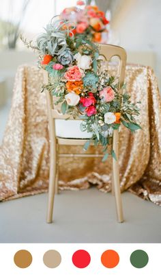 Scheming and Dreaming Jose Villa Style Me Pretty Gold. Glitter. Flowers Jose Villa gold glitter flowers  scheming and dreaming inspiration i...