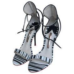 Pre-Owned Sophia Webster Leather Sandals Beautiful High Heels, Sophia Webster, Leather Sandals, Shopping, Shoes, Women, Fashion, Moda, Zapatos