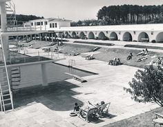 Piscina del Balneario. La Toja | por Biblioteca Facultad de Empresa y Gestión Pública