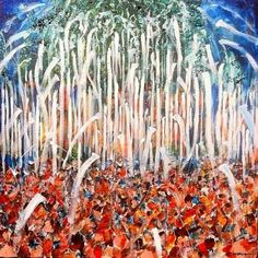 Victory at Toomers Corner by Chip Ghigna Limited edition, signed & numbered art print on high quality 80 lb acid-free paper 27 x 25 ready for Sec Football, Auburn Football, Auburn Tigers, Football Season, Auburn Alabama, Champs, Tree Nail Art, Original Art, Original Paintings