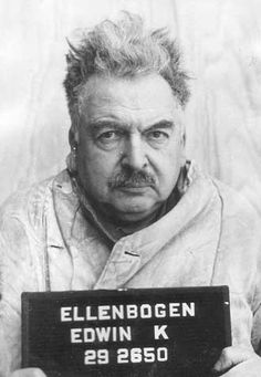 Dr. Edwin Katzen-Ellenbogen, who had degrees in both medicine and psychology was a Nazi physician in the concentration camp of Buchenwald. In the Buchenwald Camp Trial (part of the Dachau Trials) he was sentenced to lifetime imprisonment (later modified to 15 years of imprisonment).