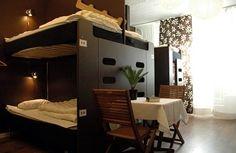 Design Hostel Stockholm, Sweden (veel dichter in centrum dan JUMBO ;-)) en gezellig!