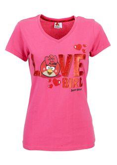 Angry Birds, Naisten T-paita | citymarket.fi verkkokauppa koko M