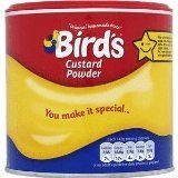 Bird's Custard Powder from England order from Amazon: $6.45 for 300g