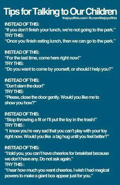 Child whisperer... how to talk to children... parenting advise