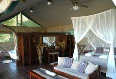 Chiawa Camp hotel in Lower Zambezi, Zambia
