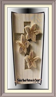 2204 Cross No. of Pages: 413 Book Height (cm): 21 Method: Cut & Fold Combined Raised Invert Pattern Listing is for Book Fold Pattern ONLY Any Flowers and decoration is for show and inspiration Pattern PDF Instant Download Instructions included in PDF Download All my patterns
