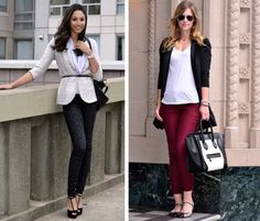 Try these adorable fall trends at the office—or on the street. #fashion