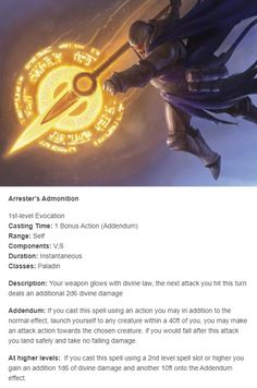 590 Best Spells and Rituals images in 2020   Dungeons and dragons homebrew, Dnd 5e homebrew ...