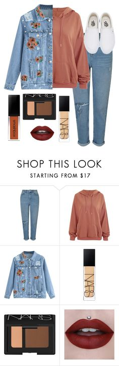"""chill outfit"" by paydenbarker on Polyvore featuring Miss Selfridge, NARS Cosmetics and Vans"