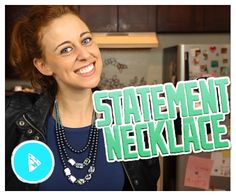 In this episode of Do It, Gurl, Jamie is all about the DIY jewelry. To get more specific, she's showing how to make awesome statement necklaces! Seriously, the three-tier beaded necklace she makes ...