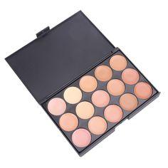Natural 15 Colors Long Lasting Makeup Pearly Eyeshadow Palette - Black 02 - & Health, Makeup Supplies, Eye Make-up # # Cream Contour, Contour Kit, Contour Makeup, Skin Makeup, Makeup Brushes, Beauty Makeup, Contour Palette, Makeup Palette