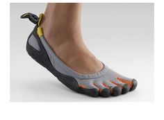 VIBRAM Fivefingers...Now you can choose from a variety of designs to cover the wide range of activities you would rather do barefoot—everything from fitness training and yoga, to running and trekking, to kayaking and sailing. Clearly, the barefooting revolution is alive and well.